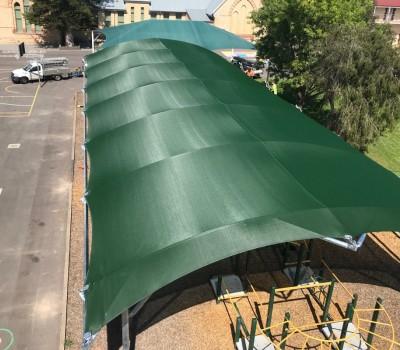 Barrel vault shelter Wallaroo Primary School Yorke Peninsula SA 2
