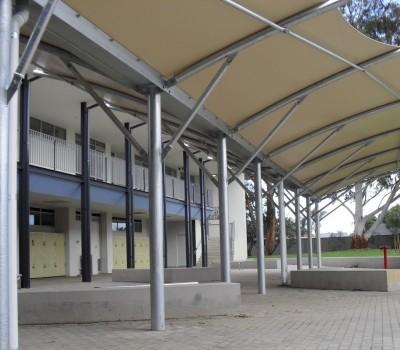 Cantilever structure Nazareth College school Flinders Park City of Charles Sturt SA