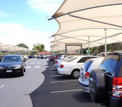 Car park structure Springbank Plaza Burton City of Salisbury SA