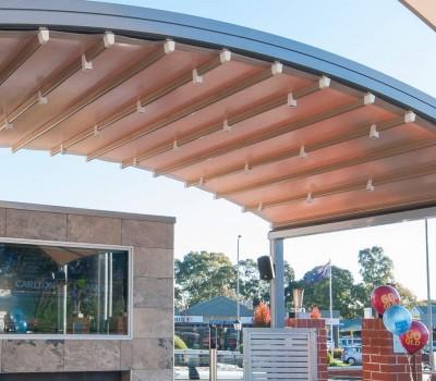 Hero Retractable motorised roof Arkaba Hotel Fullarton City of Unley SA