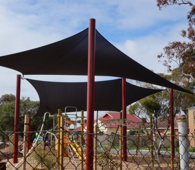 Shade sail structure  SA