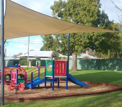 Shade sails Twelftree Reserve College Park City of Norwood