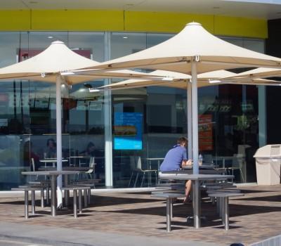 Permanent commercial umbrella OTR Seaford City of Onkaparinga SA