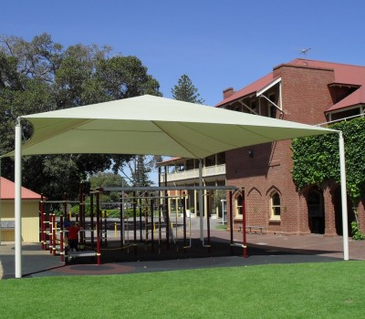 Frame shade structure sail St Peters Woddlands School Glenelg City of Holdfast Bay Glenelg SA